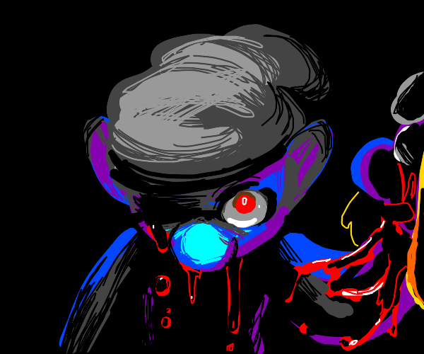 Creepypasta Smurf