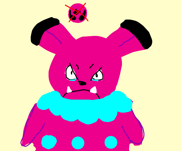 Snubbull sad about being fairy type now