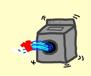 Washing machine disaster