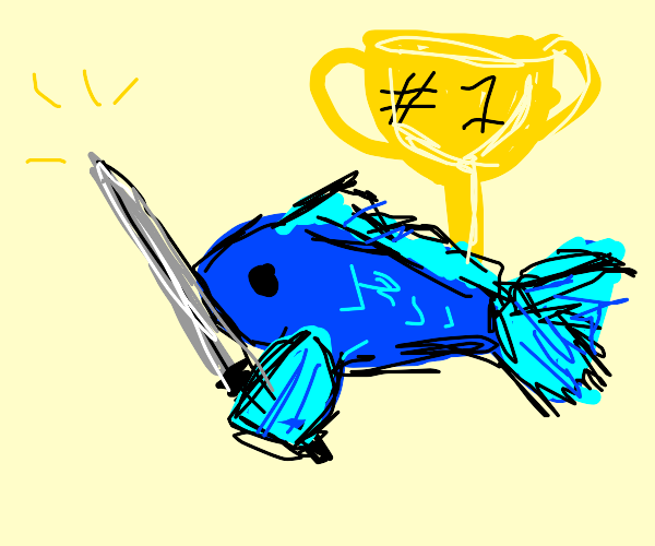 champion swordfish!