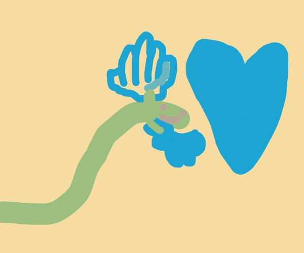 caterpillar loves its oven gloves