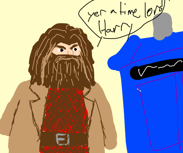 Hagrid is a time wizard