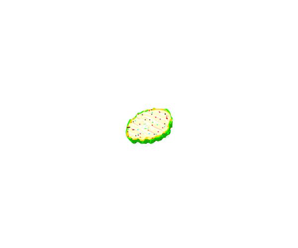 pickle with sprinkles