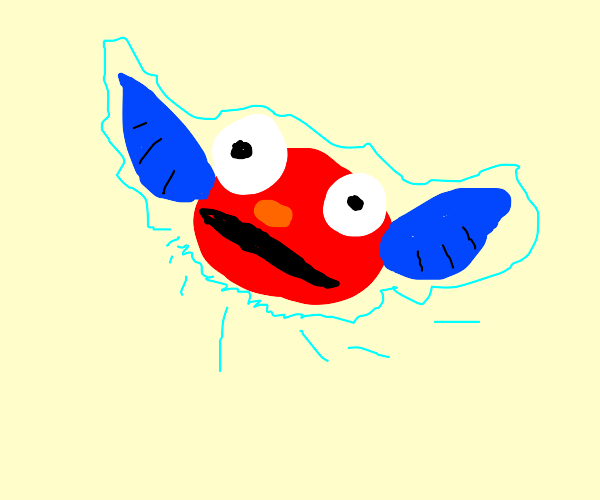 Elmo's face on Navi (LoZ)