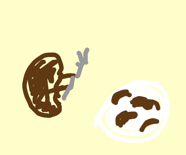 A bean is cannibal
