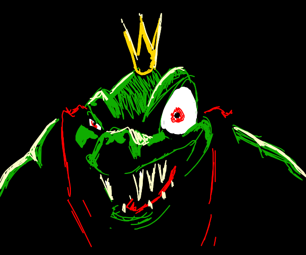 King K Rool stares into your soul