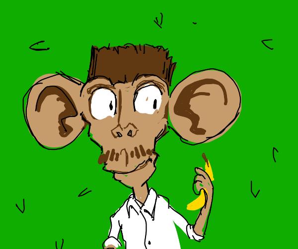 Monkey human