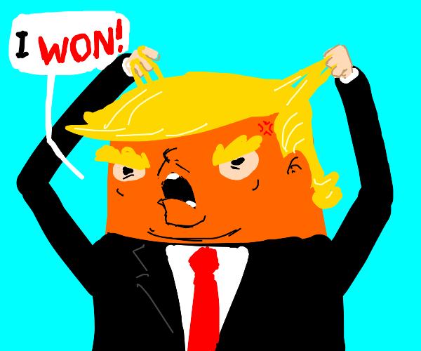Trump goes mad