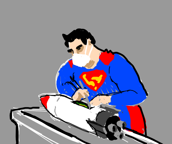 Superman Rocket Surgeon