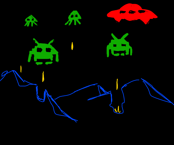 Alien Invasion in the mountains