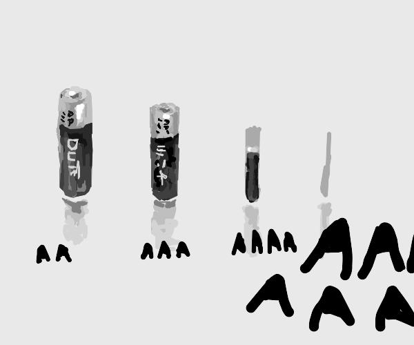 The AAAA battery meme