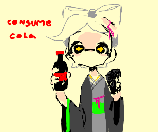 you have now been encouraged to consume cola