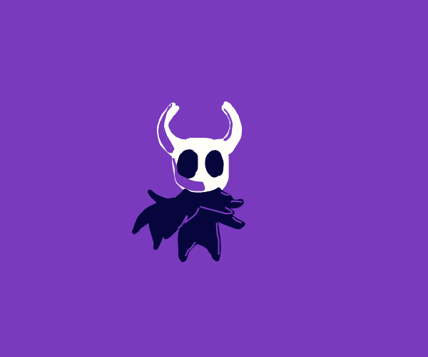 The Hollow Knight, but super cute