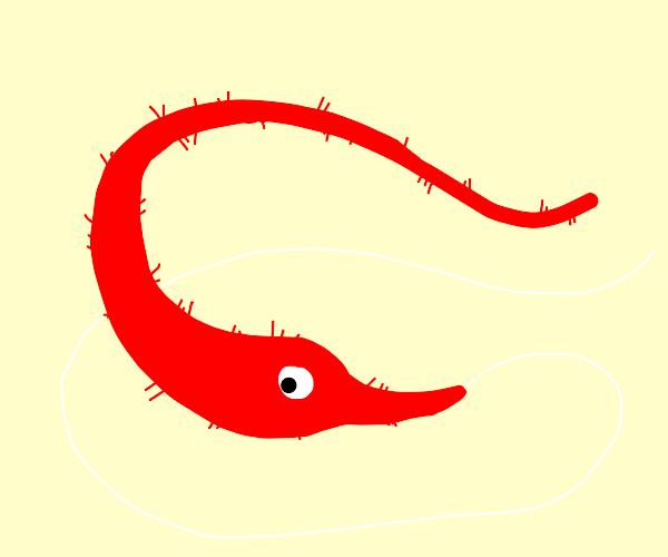 Squirmle (fuzzy worm)