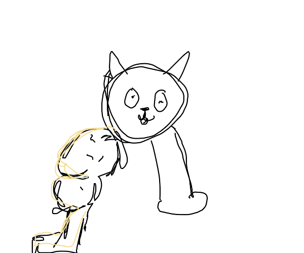 Buff leg cat evolving