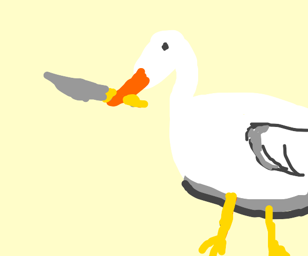 untitled goose has a knife