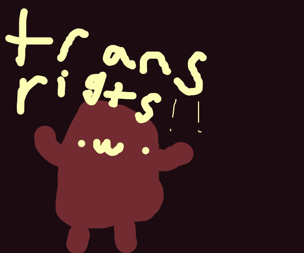Kirby says trans rights!
