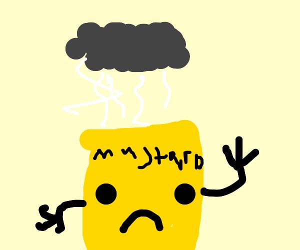 depressed mustard