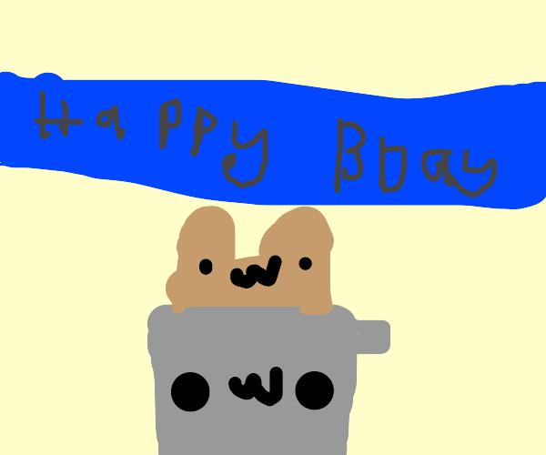 toaster birthday