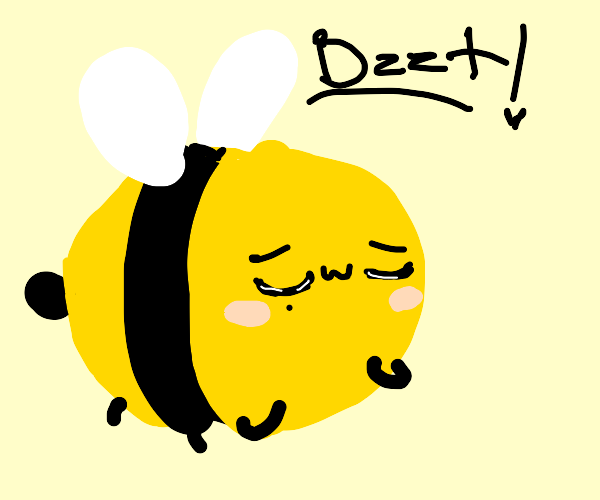 Bee but it's been hewwo-ified