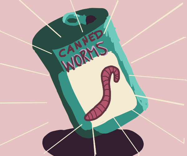 Canned Worm