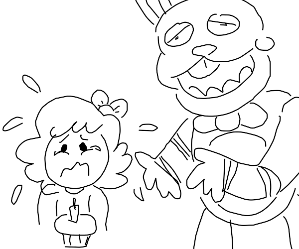 baby from fnaf crying
