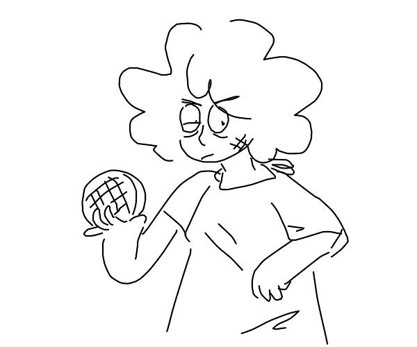 Dude got in fight to win back eggo waffle