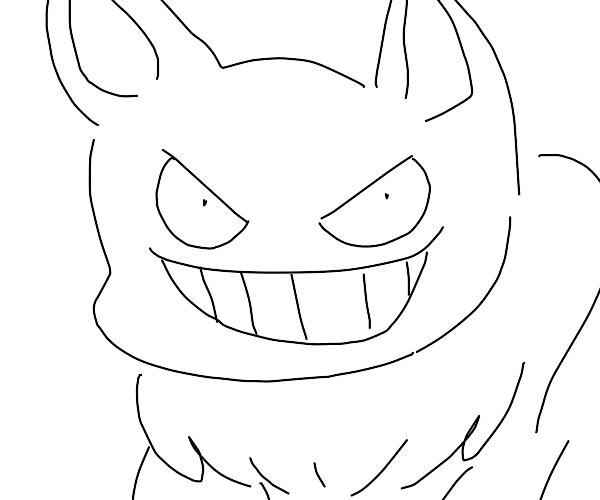 eevee possessed by ghost pokemon