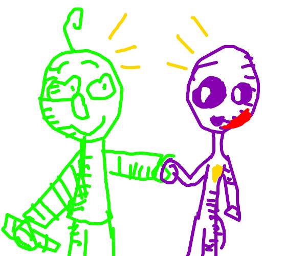 baldi and man behind the slaughter r friends