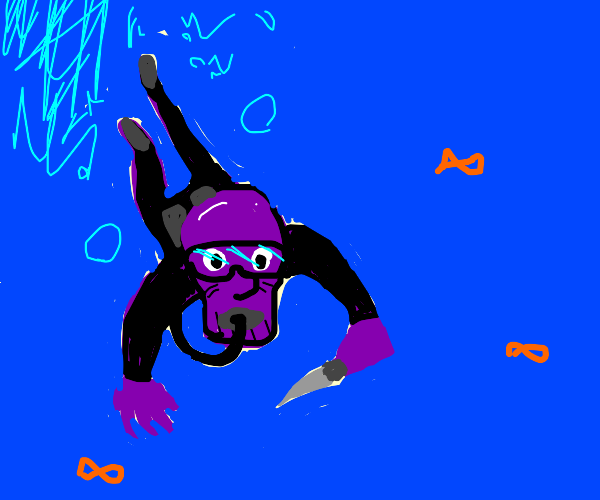 Thanos takes a knife to the ocean
