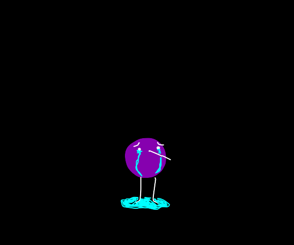 Purple creature wants to be killed