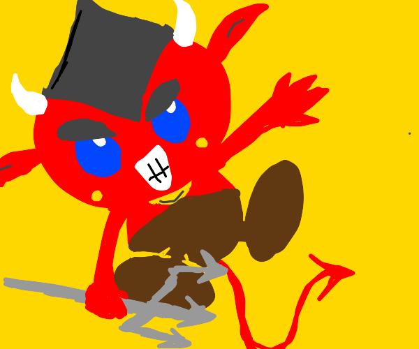 cute tiny devil