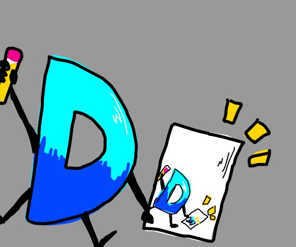 drawing drawception logo infinitely