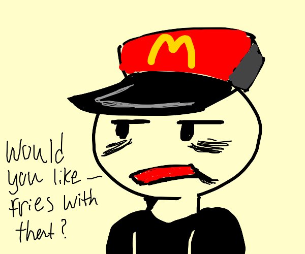 McDonalds is your future job