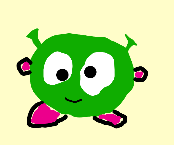 lovechild of kirby and shrek