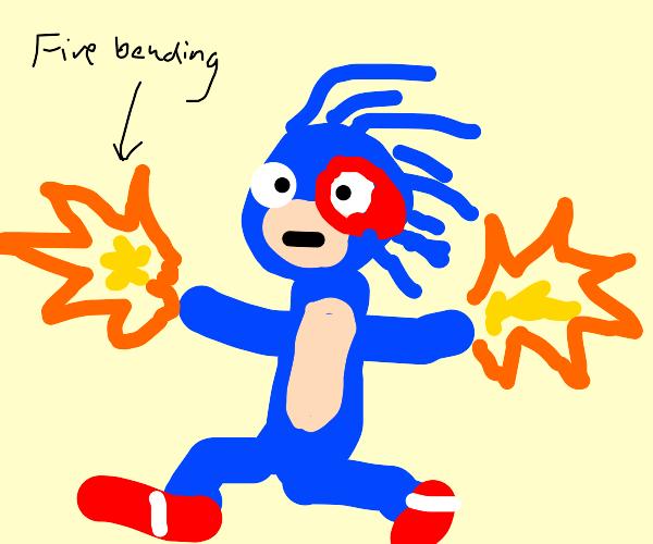 sonic the firebender