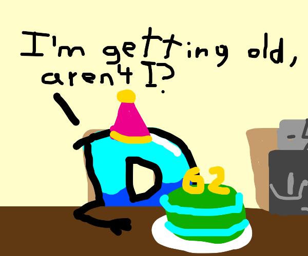 Drawception is 62 years old! Yay!