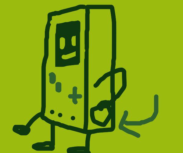 old school gameboy pocket
