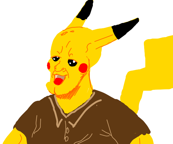 Pikachu as a Person