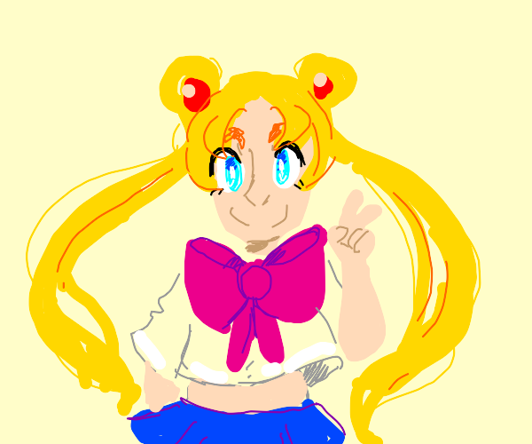 a anime character that looks like sailor moon