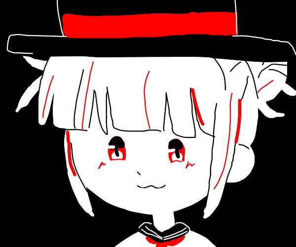 Himiko Toga has a top hat