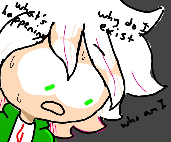 komaeda questioning his existence