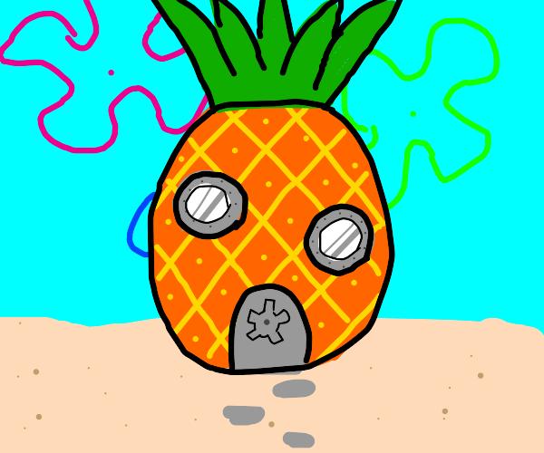 SpongeBobs pineapple under the sea