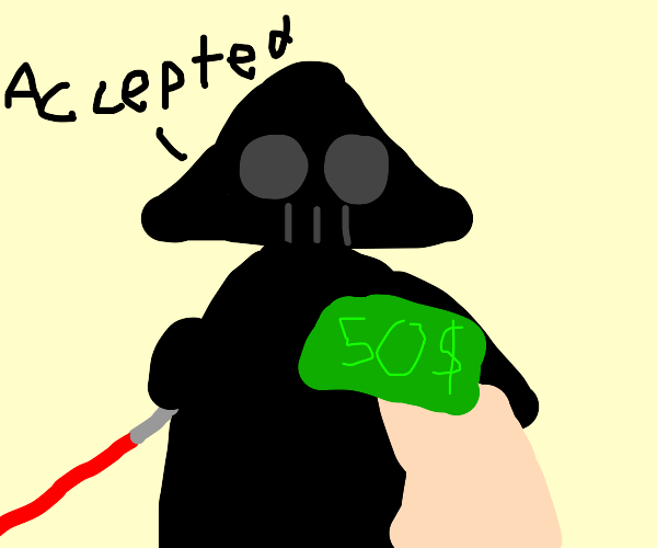 The galaxy empire accepts your 50 dollars