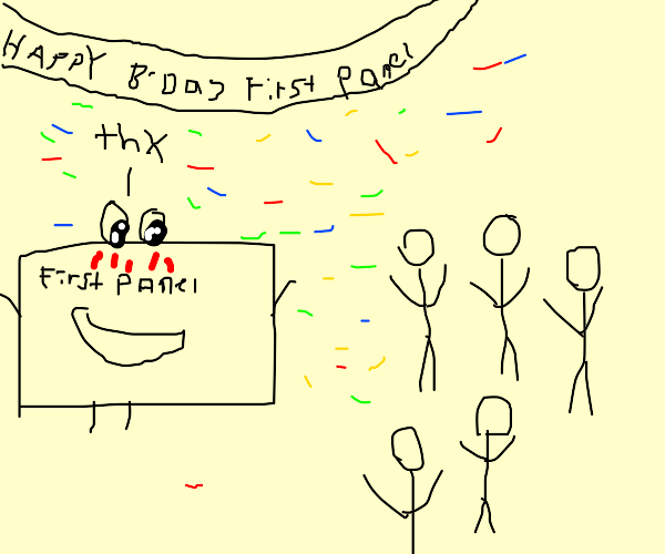 Its first panel's birthday!