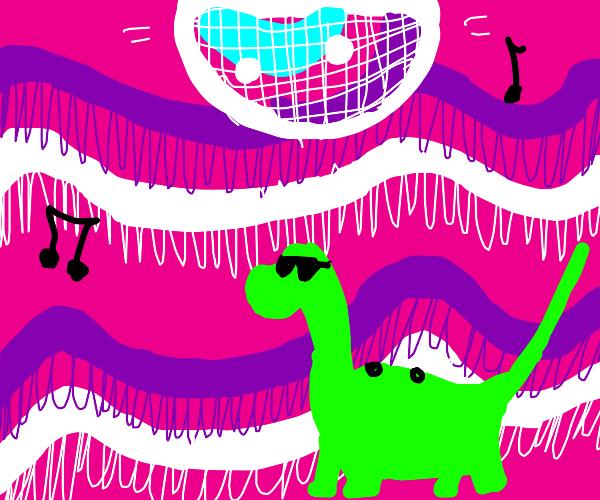 Cool Dinosaur Disco