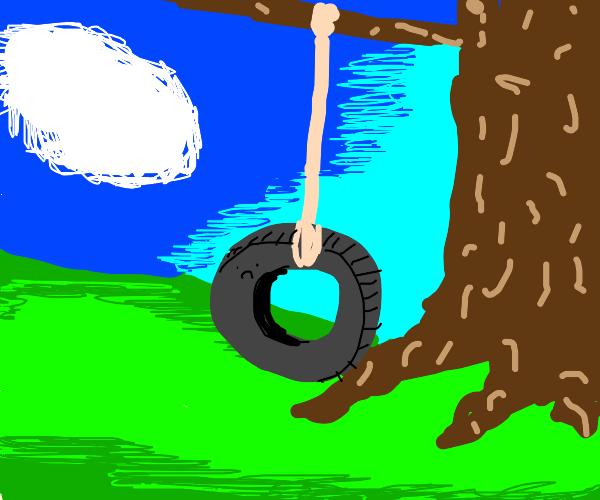 Sad tire