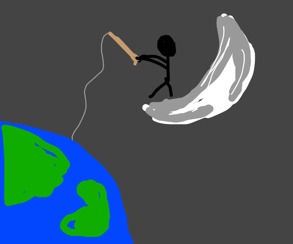 Reeling in Earth