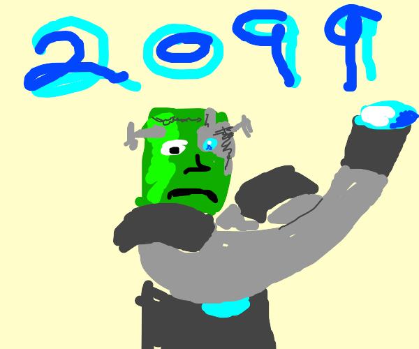 Futuristic Frankenstein