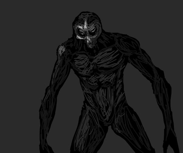 Creepy ghoul guy has a really hot body.